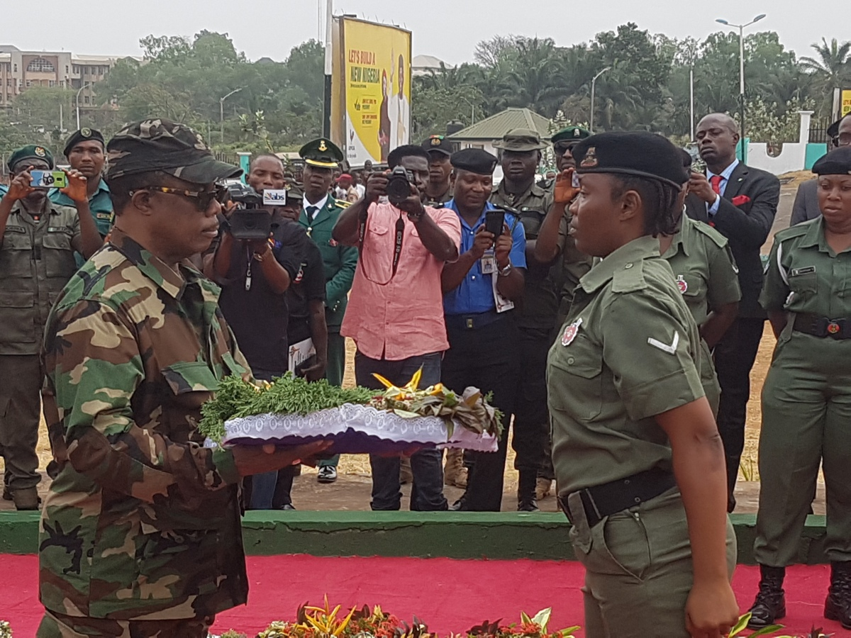 An Address Presented by the Governor of Anambra State, Chief Willie Obiano to mark the Armed Forces Remembrance Day on January 15, 2019
